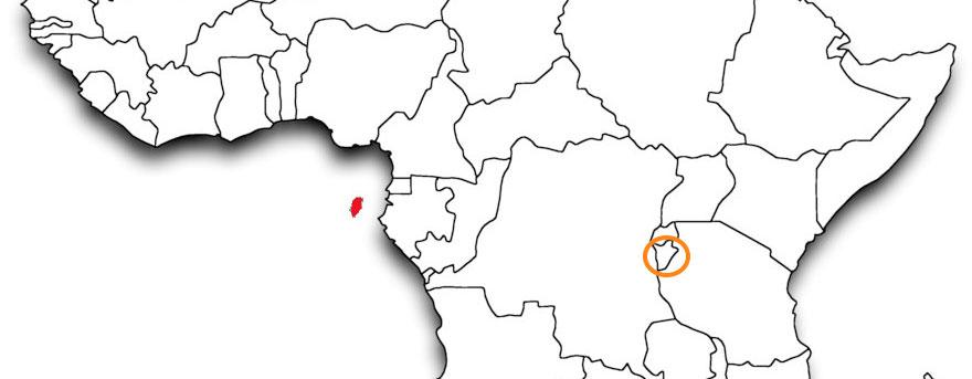 Burundi Map - Humanitarian Crisis