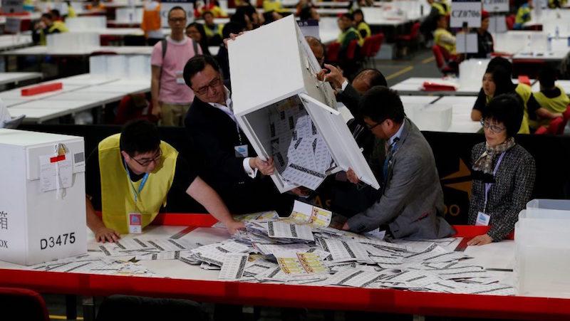 Hong Kong Election September 2016