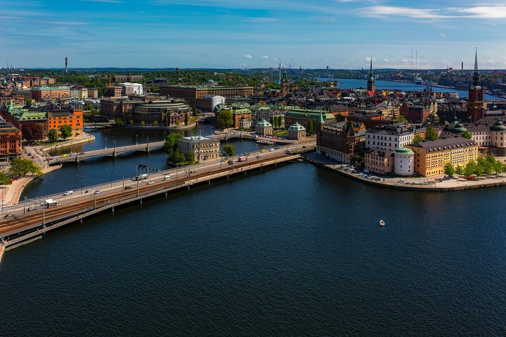 Stockholm - capital city of Sweden - a capitalist state?