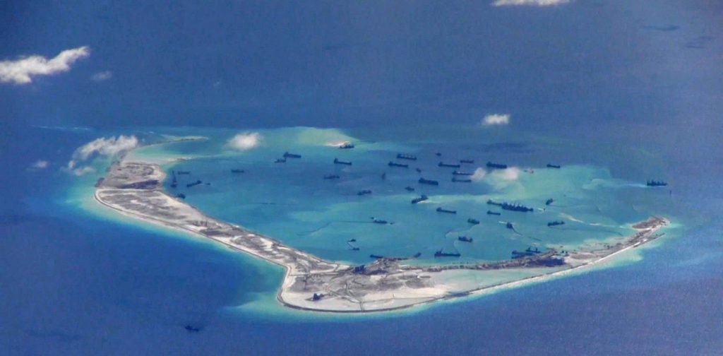 Chinese Vessels in the South China Sea